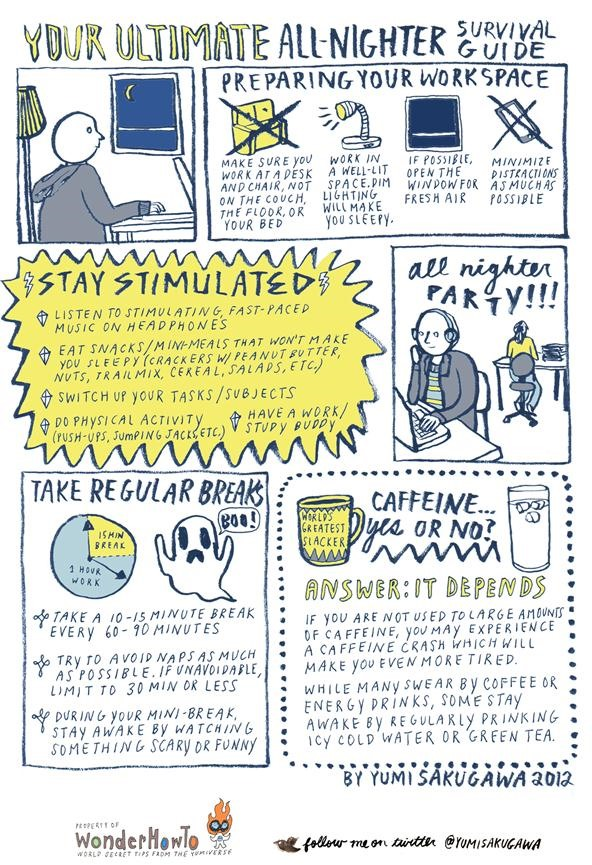 Your Ultimate All-Nighter Survival Guide
