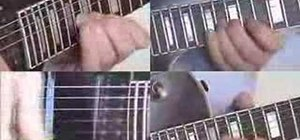 Play Fade to Black on guitar