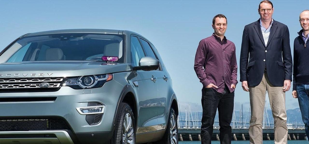 Jaguar Land Rover Leans Towards Driverless Fleets in $25 Million Deal with Lyft