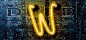 Createa realistic neon tube text effect in Photoshop