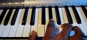 "Play ""Opposite of Adults"" by Chiddy Bang on piano"