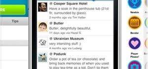 Foursquare for non-smartphones