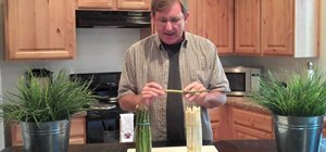 Determine if asparagus is fresh or not