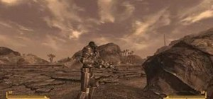 Find the Enclave Remnant Power Armor in Fallout: New Vegas