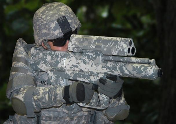 Glad it's Ours. Military Reveals Scariest, Deadliest Gun EVER