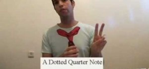 Master dotted whole notes, half notes, and quarter notes
