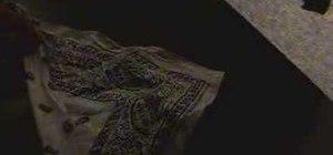 Fold a bandana