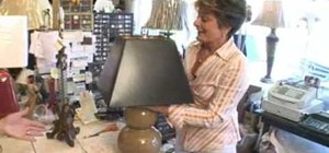 Use different lampshades to create different looks