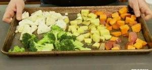 Perfectly roast vegetables