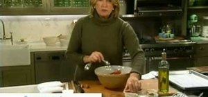 Make spicy sweet potatoes with Martha Stewart