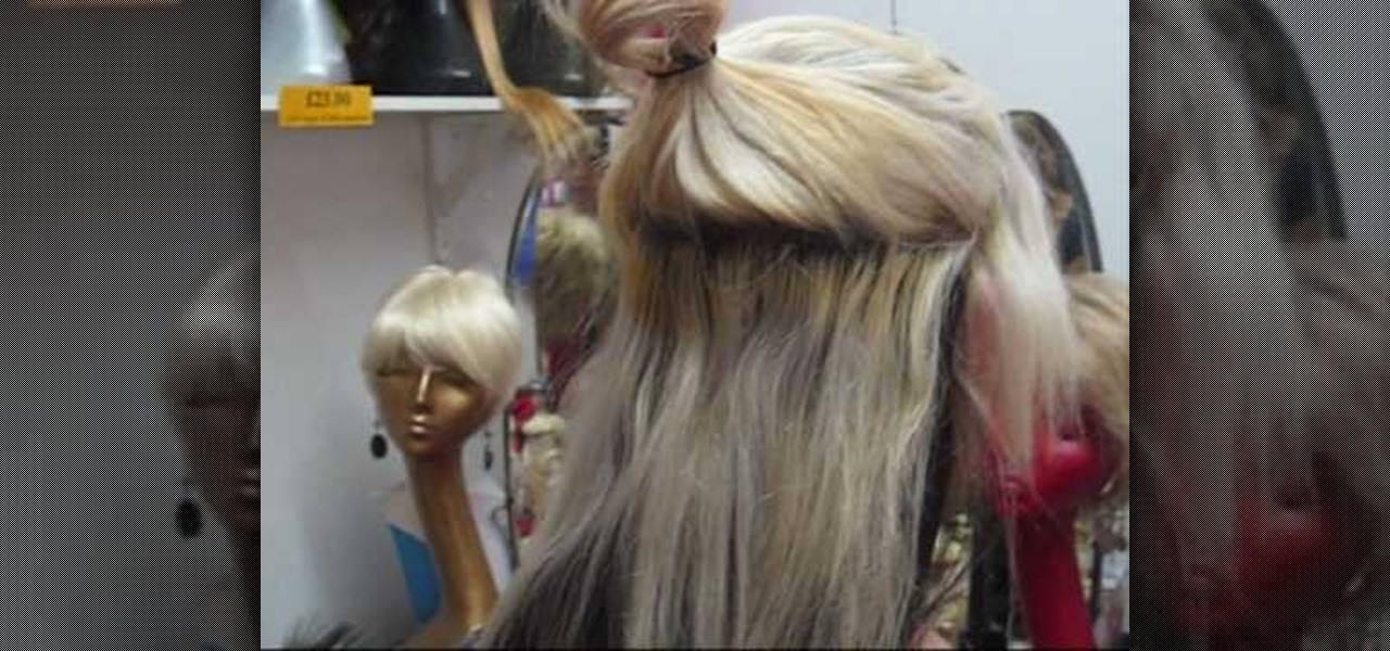How To Use Clip On Hair Extensions Hairstyling WonderHowTo