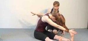 Do the Saw pilates exercise to increase flexibility