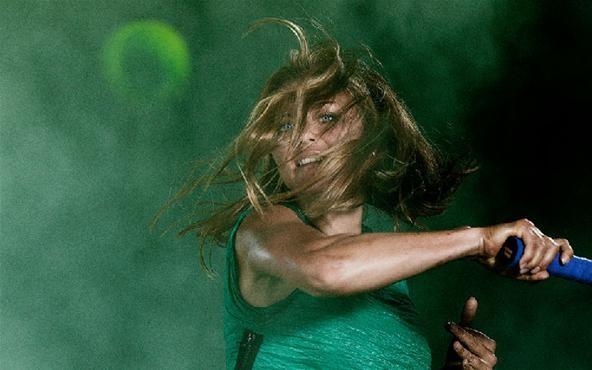 Tennis in Slow-Mo Looks Like Amazonian Ballet