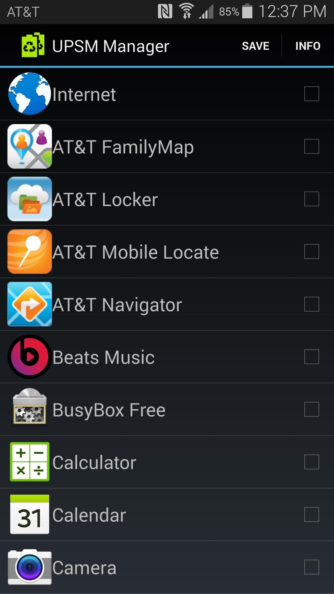 Add Any Apps to Ultra Power-Saving Mode on the Galaxy S5