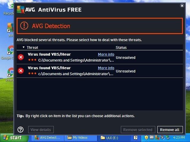 AVG Discoverer Persistence