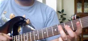 "Play ""Crazy Train"" by Ozzy Osbourne on guitar"