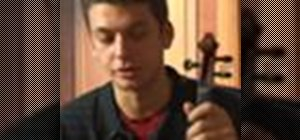 Play the G melodic minor scale on the violin
