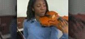 Practice fourth position on the violin