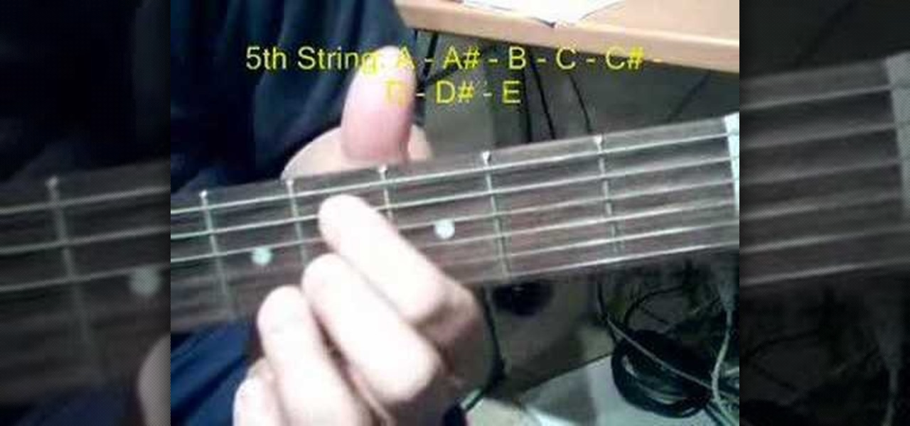 How to Play barre chords on the acoustic guitar « Acoustic Guitar ...