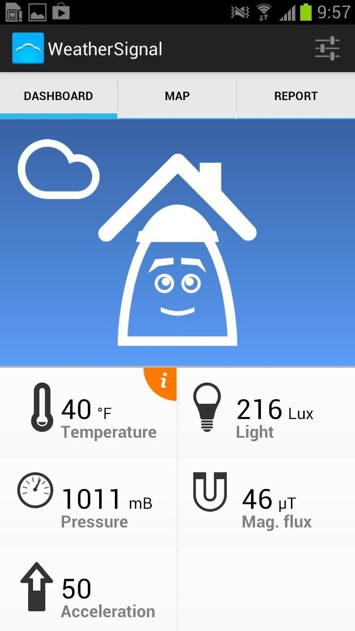 How to Get Ambient Weather Readings Instantly Using Your Samsung Galaxy Note 2's Built-In Sensors