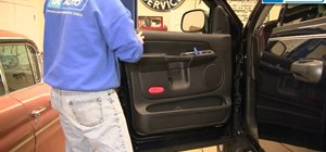 Remove and install the front door panel on a 2002-08 Dodge Ram