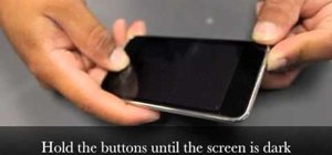Restart a frozen iPod Touch with the Home & Sleep/Wake buttons