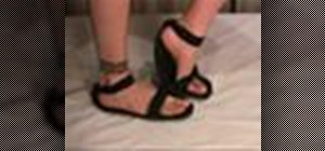 Recycle an old tire into sandals with Gianny L