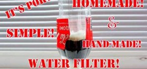 Make a homemade water filter with NANO Carbon