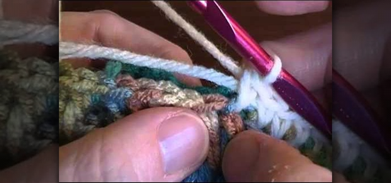 How To Join Two Granny Squares Together Using A Single
