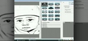 Transform a picture using pencil sketch in Photoshop