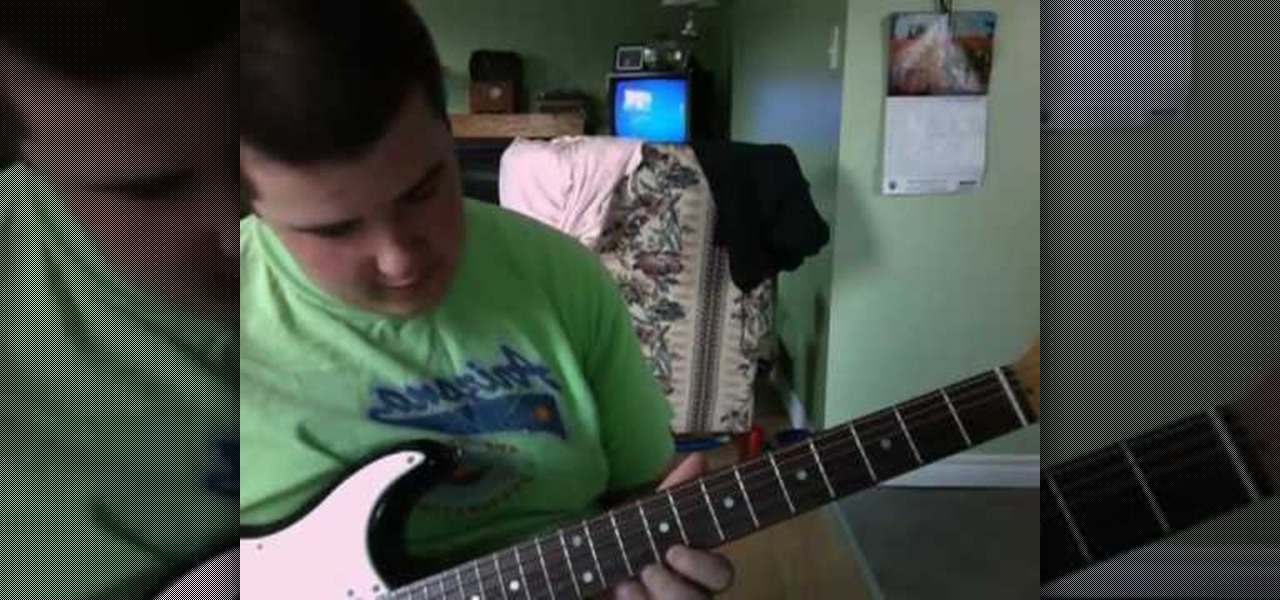 How To Play My Beloved Monster From Shrek On Guitar Electric
