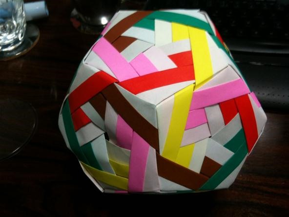 How to Make a Sonobe Jasmine Dodecahedron