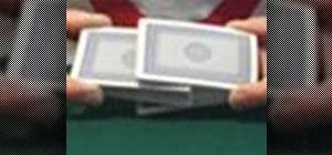 Farrow shuffle a deck of cards