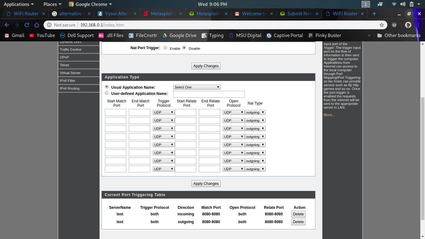 Metasploit Reverse TCP Listener for Public IP Address « Null