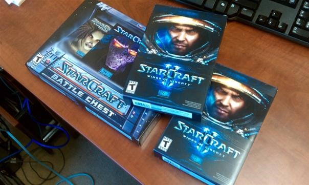 Starcraft 2 Launch Day!
