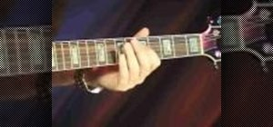 Play the bends on an electric blues guitar