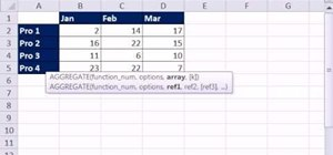 Use Excel's AGGREGATE function with 3D cell references