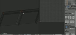 Unwrap a low-polygon building in Blender 2.5