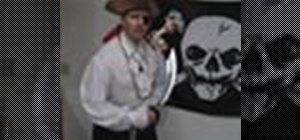 Make a pirate costume