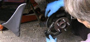 Replace your worn-out rear brake shoes on your vehicle