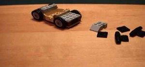 Build Johnny Thunder's car out of Legos