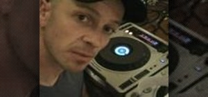 Use the loop function on a CDJ turntable