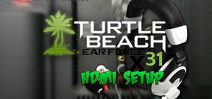 Install a Turtle Beach headset for an HDMI components