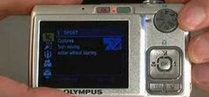 Use the Olympus FE-240 digital camera