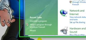 Uninstall software programs in Windows Vista