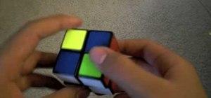 "Use the ""Ortega method"" to solve a 2x2 Rubik's Cube"