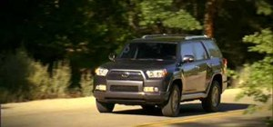 Operate headlights manually on a 2010 Toyota 4Runner