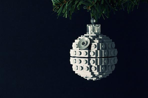 Build Your Own Death Star Christmas Ornament