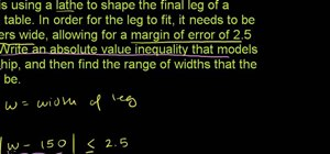Write and use inequalities in basic algebra