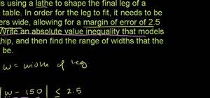 Write and use inequalities in basic algebra